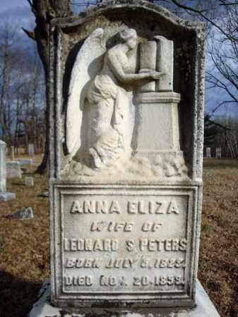 PETERS, ANNA ELIZA - Saratoga County, New York | ANNA ELIZA PETERS - New York Gravestone Photos