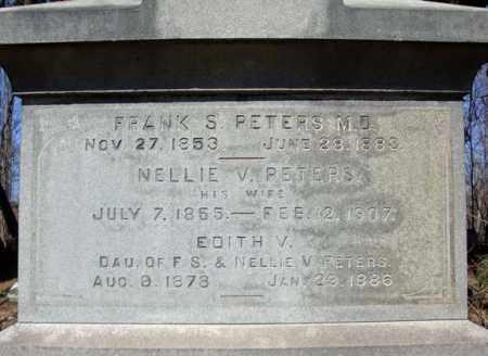 PETERS, FRANK S - Saratoga County, New York | FRANK S PETERS - New York Gravestone Photos