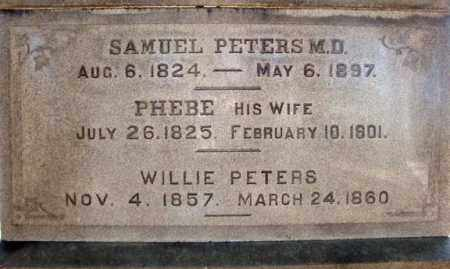 PETERS, PHEBE - Saratoga County, New York | PHEBE PETERS - New York Gravestone Photos