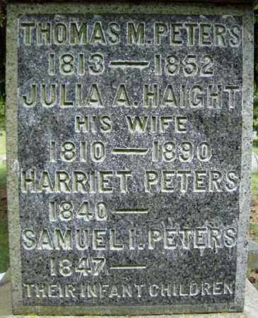 PETERS, THOMAS M - Saratoga County, New York | THOMAS M PETERS - New York Gravestone Photos