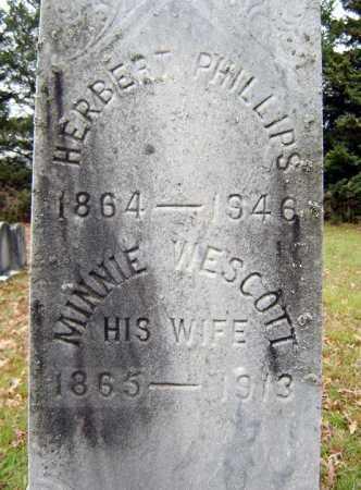 PHILLIPS, HERBERT - Saratoga County, New York   HERBERT PHILLIPS - New York Gravestone Photos