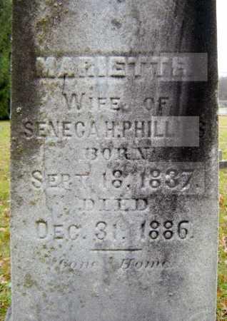 PHILLIPS, MARIETTA - Saratoga County, New York   MARIETTA PHILLIPS - New York Gravestone Photos