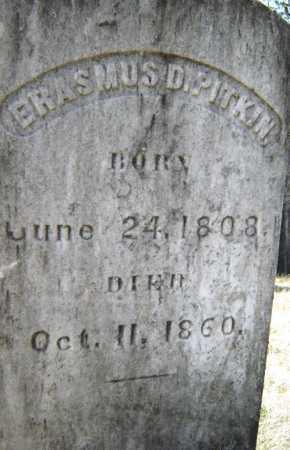 PITKIN, ERASMUS DARWIN - Saratoga County, New York | ERASMUS DARWIN PITKIN - New York Gravestone Photos
