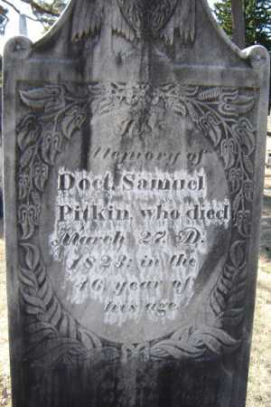 PITKIN, SAMUEL - Saratoga County, New York | SAMUEL PITKIN - New York Gravestone Photos