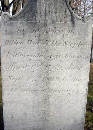 POTTER, OLIVE - Saratoga County, New York | OLIVE POTTER - New York Gravestone Photos