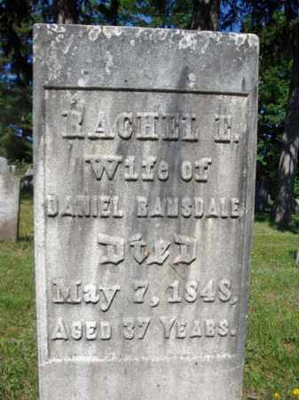 RAMSDALE, RACHEL E - Saratoga County, New York | RACHEL E RAMSDALE - New York Gravestone Photos
