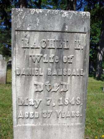 RAMSDALE, RACHEL E - Saratoga County, New York | RACHEL E RAMSDALE - New York Gravestone Photos