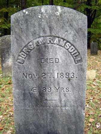 RAMSDILL, MORGAN - Saratoga County, New York | MORGAN RAMSDILL - New York Gravestone Photos