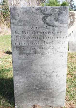 RAYMOND, ABRAHAM - Saratoga County, New York | ABRAHAM RAYMOND - New York Gravestone Photos