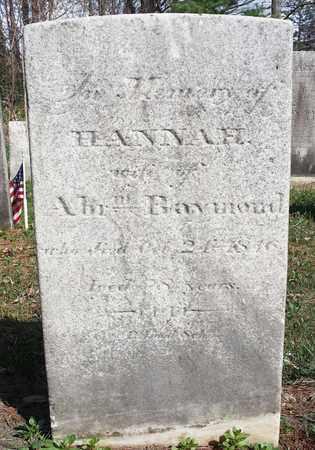 RAYMOND, HANNAH - Saratoga County, New York | HANNAH RAYMOND - New York Gravestone Photos