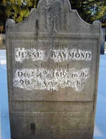 RAYMOND, JESSE - Saratoga County, New York | JESSE RAYMOND - New York Gravestone Photos