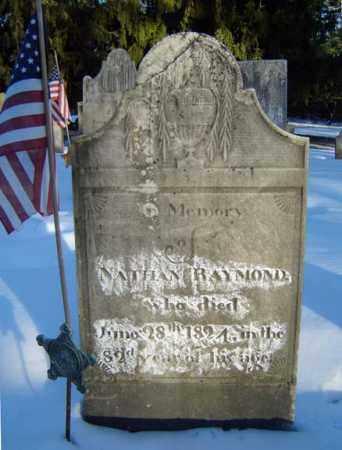 RAYMOND, NATHAN - Saratoga County, New York   NATHAN RAYMOND - New York Gravestone Photos