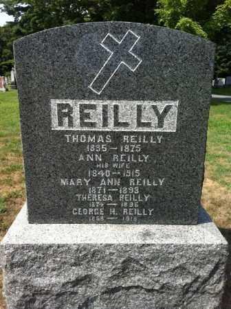 REILLY, THERESA - Saratoga County, New York | THERESA REILLY - New York Gravestone Photos