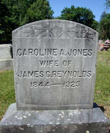 JONES, CAROLINE A - Saratoga County, New York | CAROLINE A JONES - New York Gravestone Photos