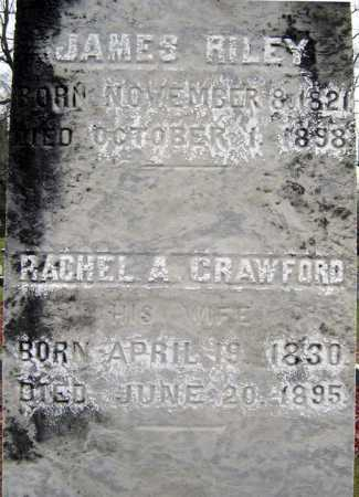 CRAWFORD RILEY, RACHEL A - Saratoga County, New York   RACHEL A CRAWFORD RILEY - New York Gravestone Photos