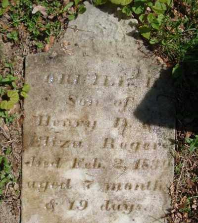 ROGERS, ORVILLE H - Saratoga County, New York | ORVILLE H ROGERS - New York Gravestone Photos