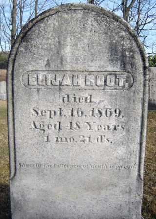ROOT, ELIJAH - Saratoga County, New York   ELIJAH ROOT - New York Gravestone Photos