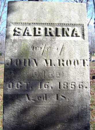 ROOT, SABRINA - Saratoga County, New York | SABRINA ROOT - New York Gravestone Photos
