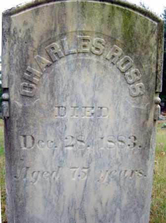 ROSS, CHARLES - Saratoga County, New York | CHARLES ROSS - New York Gravestone Photos