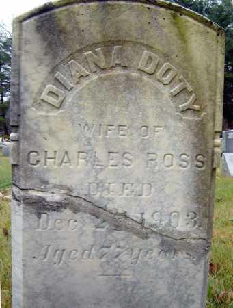 ROSS, DIANA - Saratoga County, New York | DIANA ROSS - New York Gravestone Photos