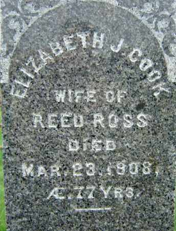 ROSS, ELIZABETH J - Saratoga County, New York | ELIZABETH J ROSS - New York Gravestone Photos