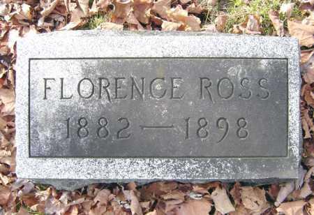 ROSS, FLORENCE - Saratoga County, New York | FLORENCE ROSS - New York Gravestone Photos