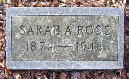 ROSS, SARAH A - Saratoga County, New York   SARAH A ROSS - New York Gravestone Photos