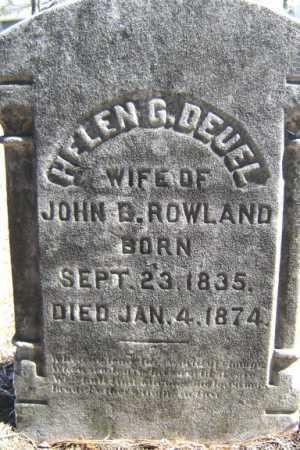 ROWLAND, HELEN G - Saratoga County, New York | HELEN G ROWLAND - New York Gravestone Photos