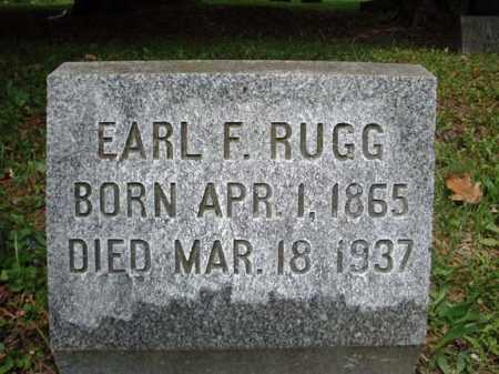 RUGG, EARL F - Saratoga County, New York | EARL F RUGG - New York Gravestone Photos