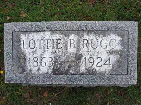 RUGG, LOTTIE B - Saratoga County, New York | LOTTIE B RUGG - New York Gravestone Photos