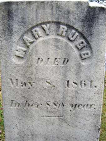 RUGG, MARY - Saratoga County, New York | MARY RUGG - New York Gravestone Photos