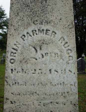 RUGG, ORIN PALMER - Saratoga County, New York | ORIN PALMER RUGG - New York Gravestone Photos