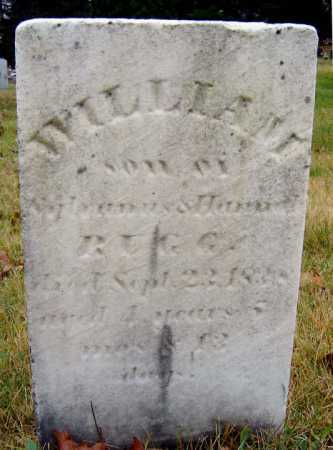 RUGG, WILLIAM - Saratoga County, New York | WILLIAM RUGG - New York Gravestone Photos