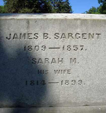 SARGENT, JAMES B - Saratoga County, New York | JAMES B SARGENT - New York Gravestone Photos
