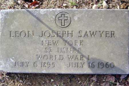 SAWYER, LEON JOSEPH - Saratoga County, New York | LEON JOSEPH SAWYER - New York Gravestone Photos