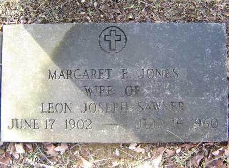 JONES SAWYER, MARGARET E - Saratoga County, New York   MARGARET E JONES SAWYER - New York Gravestone Photos