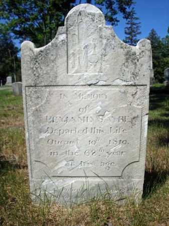 SAYRE, BENJAMIN - Saratoga County, New York | BENJAMIN SAYRE - New York Gravestone Photos