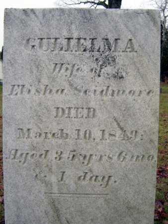 SCIDMORE, GULIELMA - Saratoga County, New York | GULIELMA SCIDMORE - New York Gravestone Photos