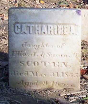 SCOTEN, CATHARINE A. - Saratoga County, New York | CATHARINE A. SCOTEN - New York Gravestone Photos