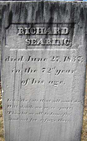 SEARING, RICHARD - Saratoga County, New York | RICHARD SEARING - New York Gravestone Photos