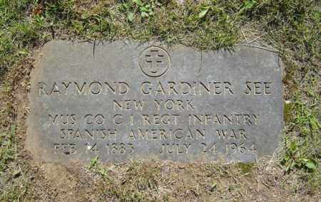 SEE, RAYMOND GARDINER - Saratoga County, New York | RAYMOND GARDINER SEE - New York Gravestone Photos