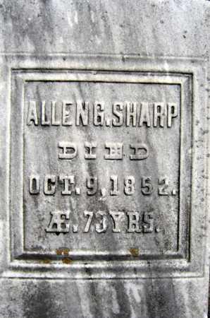 SHARP, ALLEN G - Saratoga County, New York | ALLEN G SHARP - New York Gravestone Photos