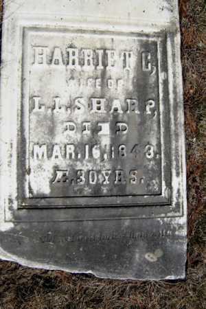 SHARP, HARRIET C - Saratoga County, New York | HARRIET C SHARP - New York Gravestone Photos