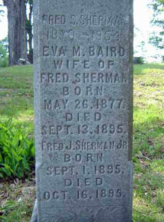 SHERMAN, FRED J - Saratoga County, New York | FRED J SHERMAN - New York Gravestone Photos