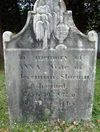 SLOCUM, ANNA - Saratoga County, New York | ANNA SLOCUM - New York Gravestone Photos