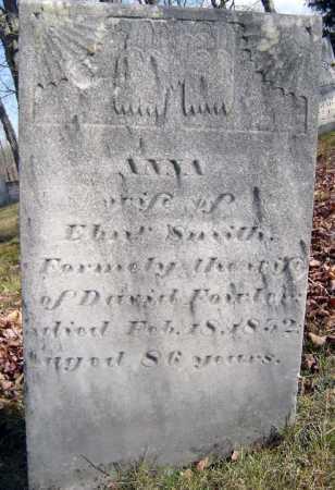 SMITH, ANNA - Saratoga County, New York   ANNA SMITH - New York Gravestone Photos