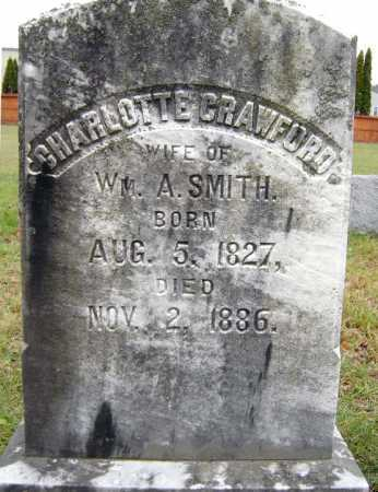 CRAWFORD, CHARLOTTE - Saratoga County, New York | CHARLOTTE CRAWFORD - New York Gravestone Photos