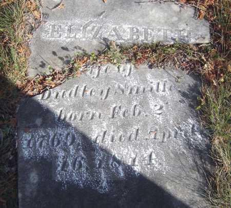 SMITH, ELIZABETH - Saratoga County, New York   ELIZABETH SMITH - New York Gravestone Photos