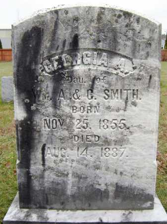 SMITH, GEORGIA A - Saratoga County, New York | GEORGIA A SMITH - New York Gravestone Photos
