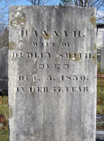 SMITH, HANNAH - Saratoga County, New York   HANNAH SMITH - New York Gravestone Photos